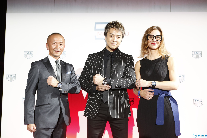 傳承經典,再續傳奇:泰格豪雅于東京發布 第四款(摩納哥系列)限量版腕表