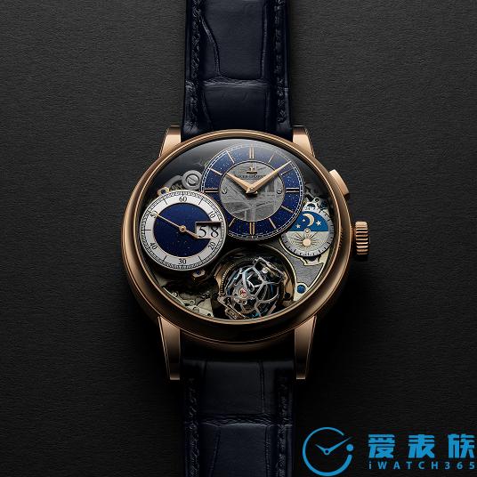 积家融合传统艺术与罕见陨石镶嵌工艺推出全新 超卓传统大师系列球型陀飞轮 3 腕表