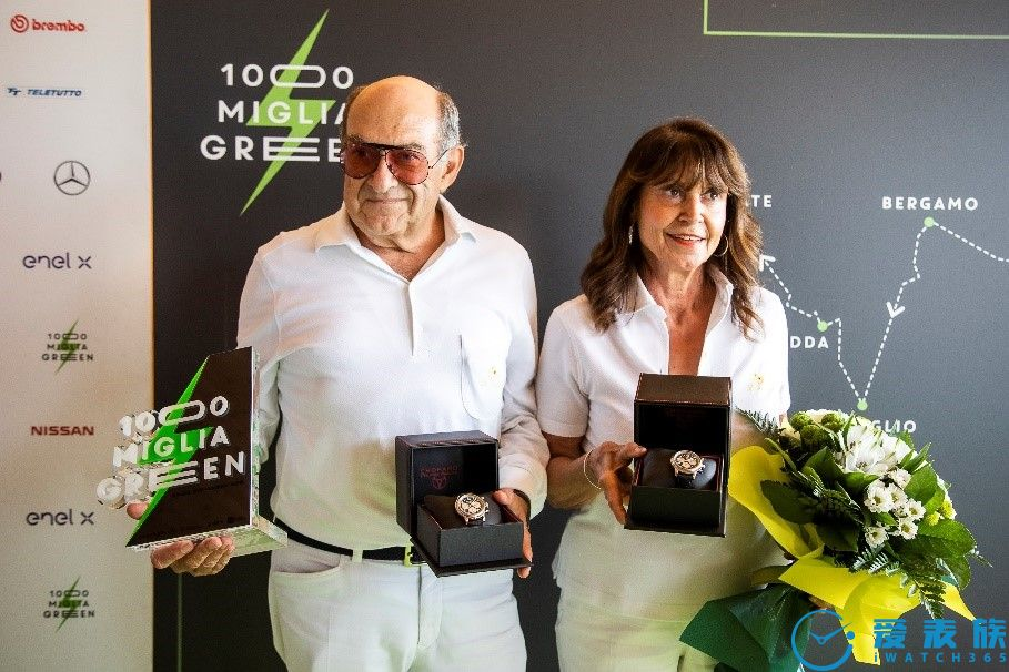 Chopard蕭邦成為第一屆Mille Miglia Green拉力賽官方計時器合作伙伴