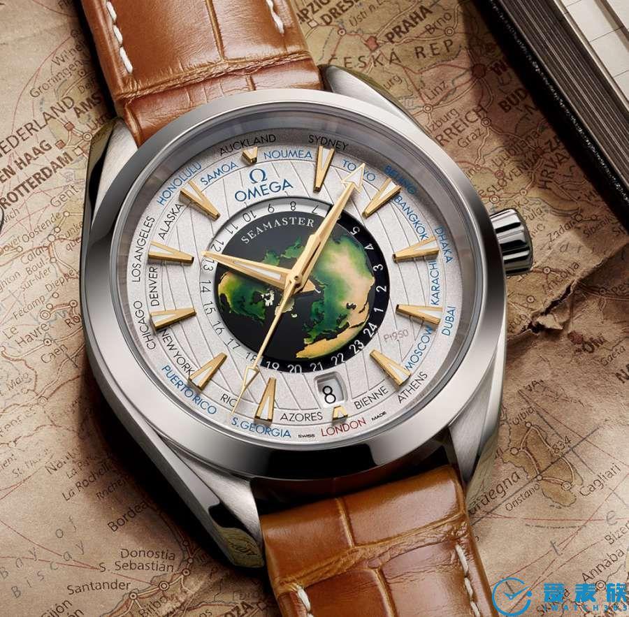 平民化的欧米茄海马AT世界时腕表