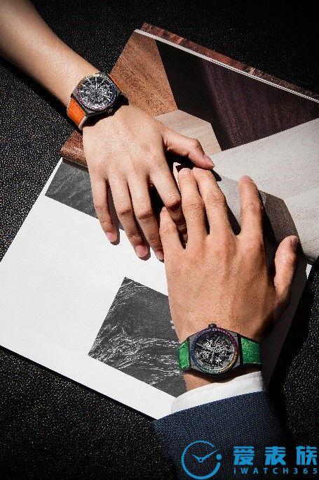 繽紛色彩,悅動腕間 真力時推出Defy Classic Rainbow限量版腕表