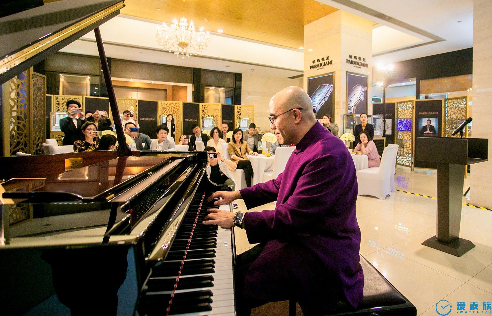 日月光华 君子厚德 钢琴表演艺术家孔祥东先生指尖流转 演绎帕玛强尼时间艺术