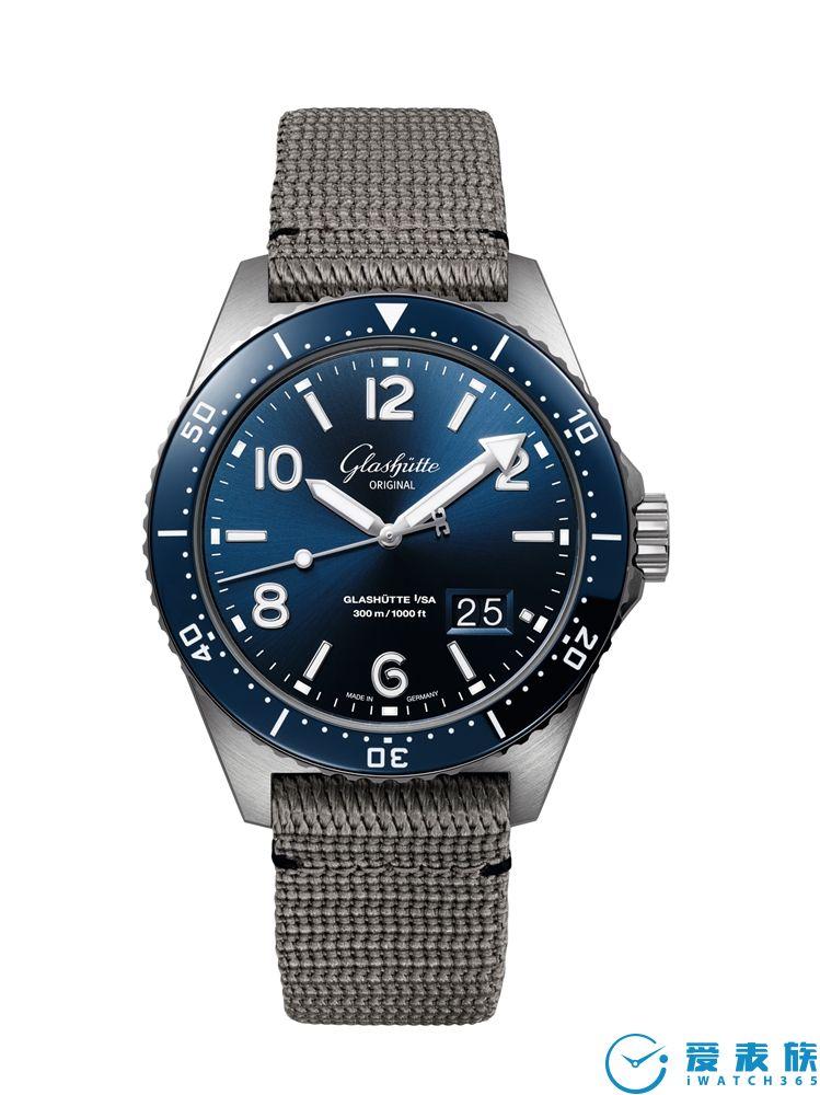 格拉苏蒂原创 SeaQ 腕表――历经多重严苛测试的非凡之作 现已上市