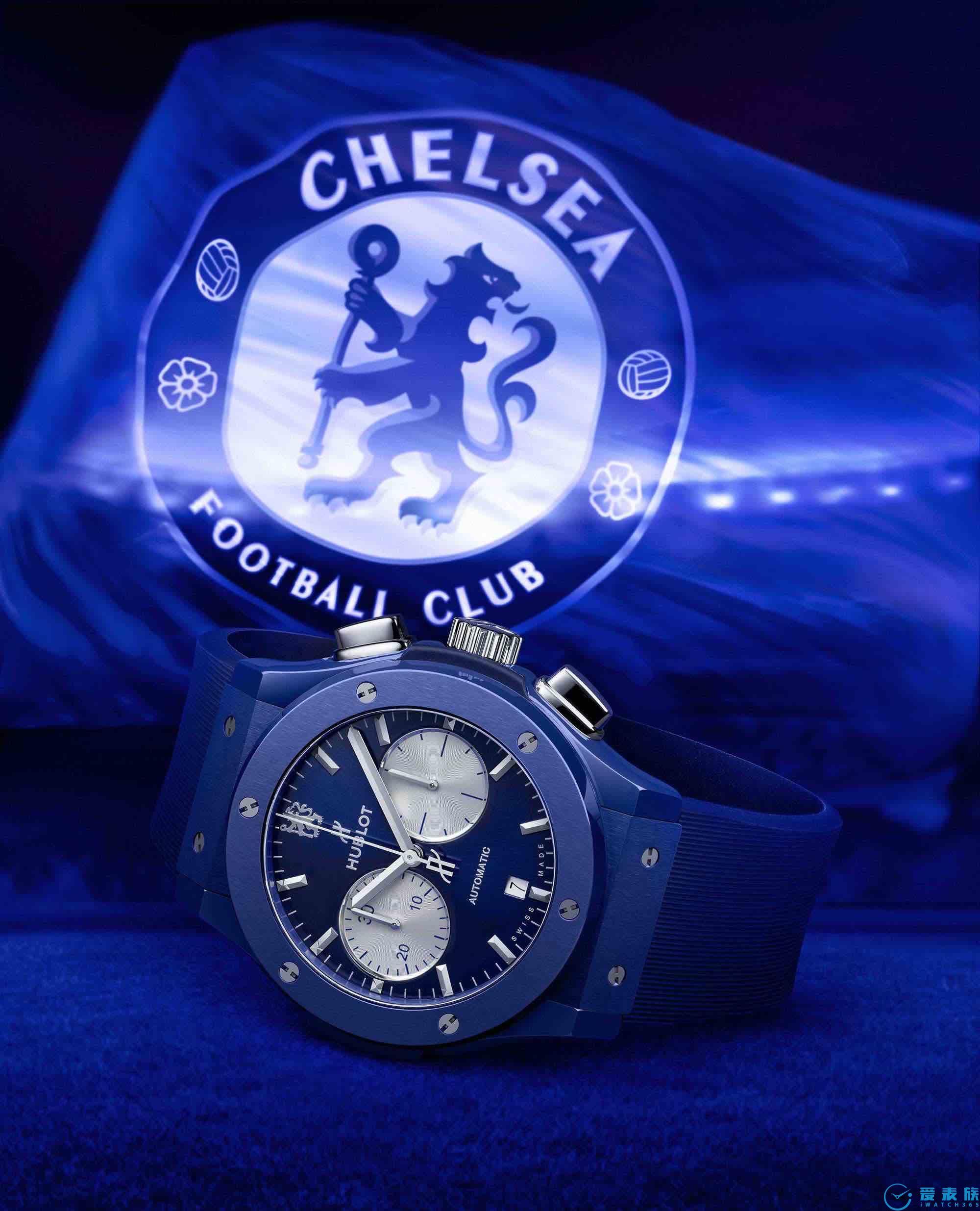 照耀伦敦天际线的那一抹蓝 HUBLOT宇舶表携手切尔西俱乐部发布全新腕表