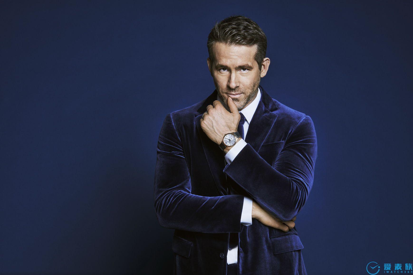 加拿大演员瑞安·雷诺兹(Ryan Reynolds)佩戴Chopard萧邦腕表彰显先锋本色
