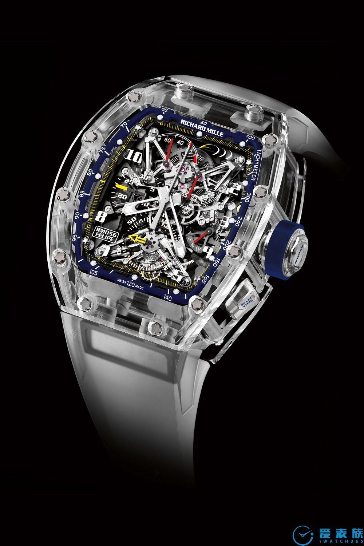 "7. RM 056 Tourbillon Sapphire"" Felipe Massa 10th Anniversary"""