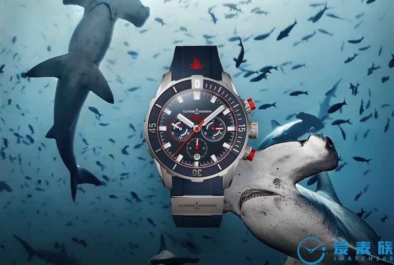 NEXT浪潮來襲!  雅典表隆重呈獻潛水計時腕表紅色錘頭鯊限量版