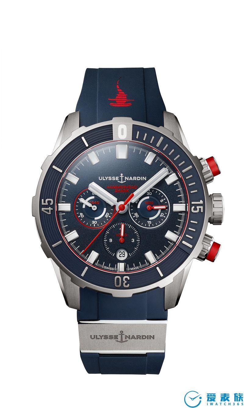 NEXT浪潮來襲!雅典表隆重呈獻潛水計時腕表紅色錘頭鯊限量版