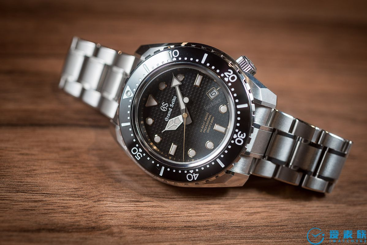 冠藍獅Grand Seiko Hi-Beat SBGH255