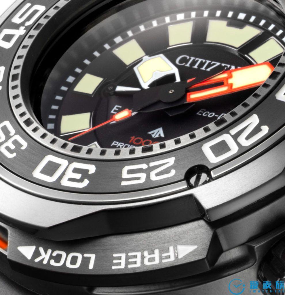 世界上第一枚防水1000米的轻型手表---西铁城造