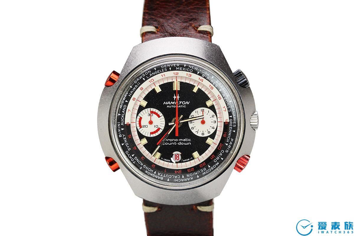 汉米尔顿美国经典CHRONO MATIC 50限量版手表