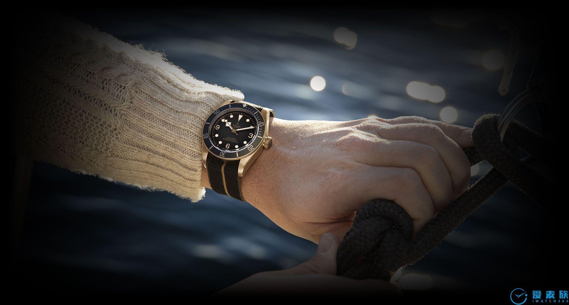 岩灰色---帝舵碧湾青铜表的新配色