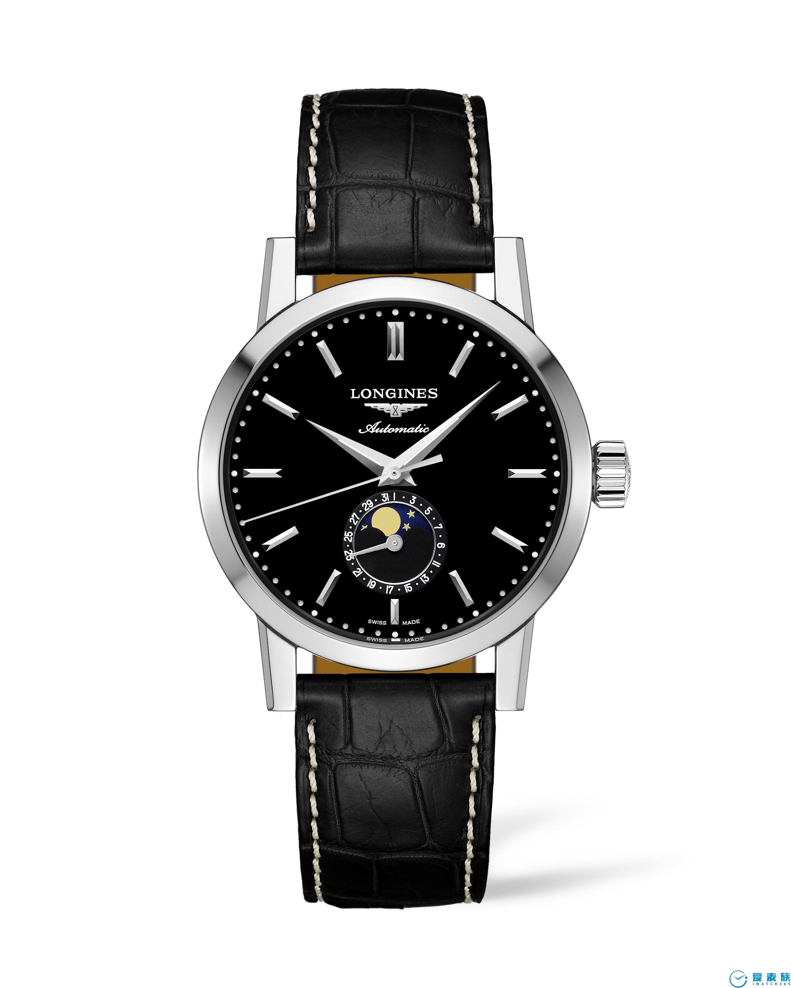 浪琴表1832系列再推新作:新增黑色款及女士腕表