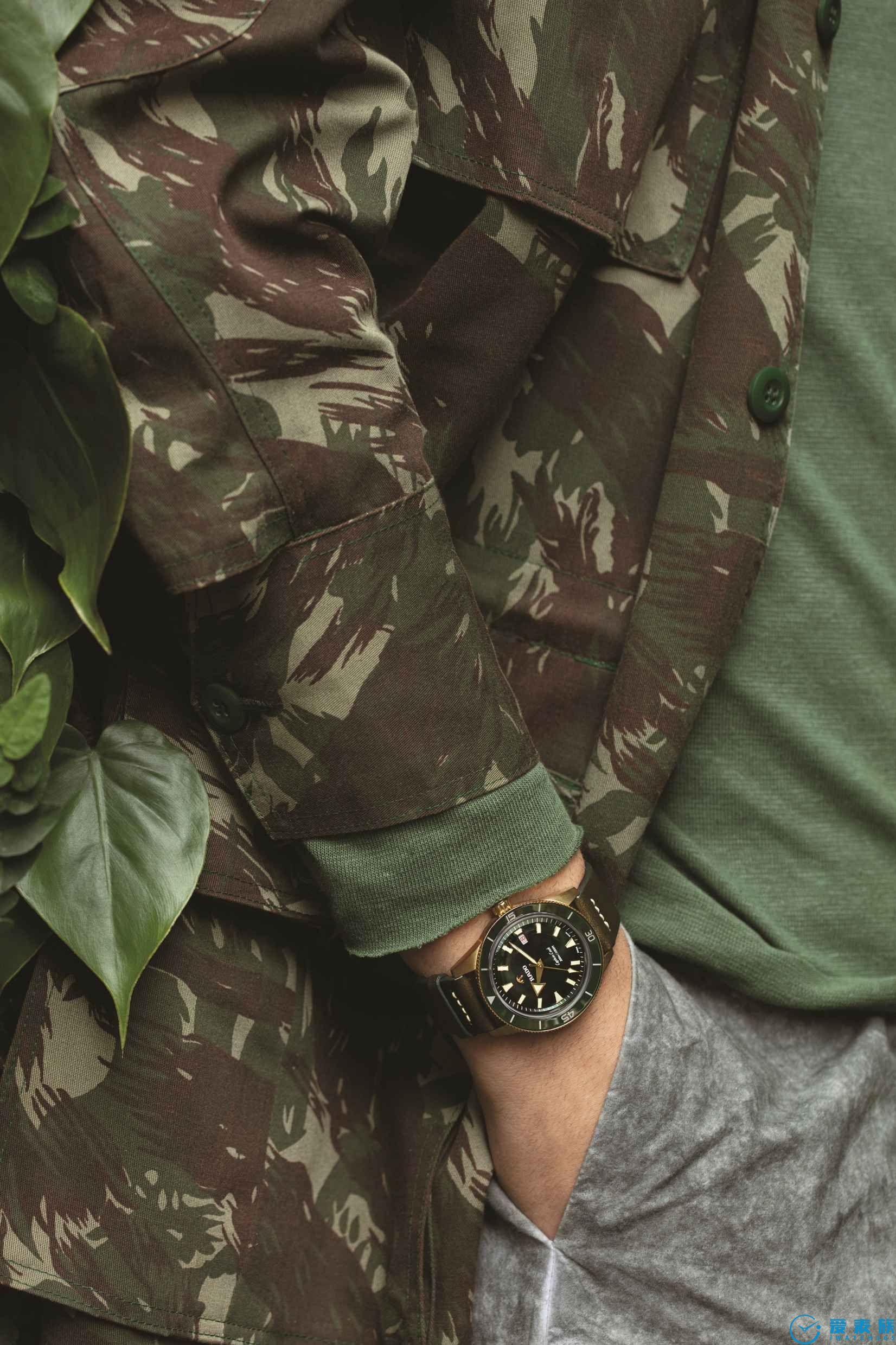 感知真我!青铜俊仕 Rado瑞士雷达表Captain Cook库克船长自动机械青铜腕表
