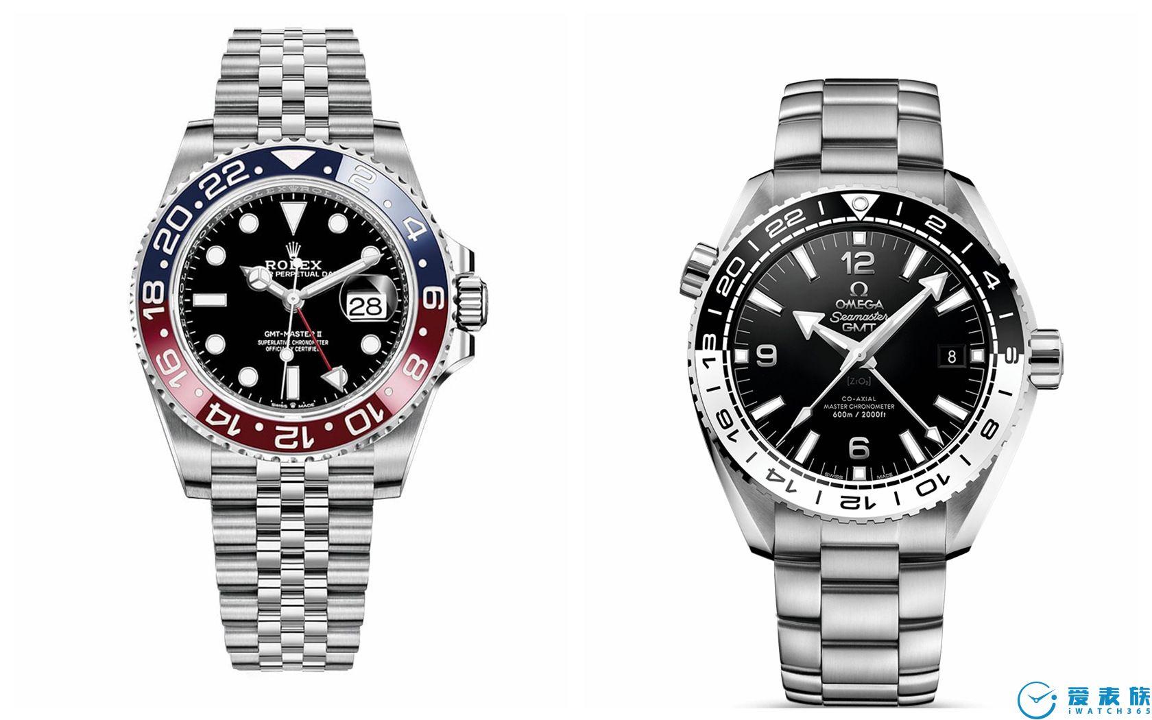 冠蓝狮首次推出双色圈GMT腕表 SBGJ237& SBGJ239