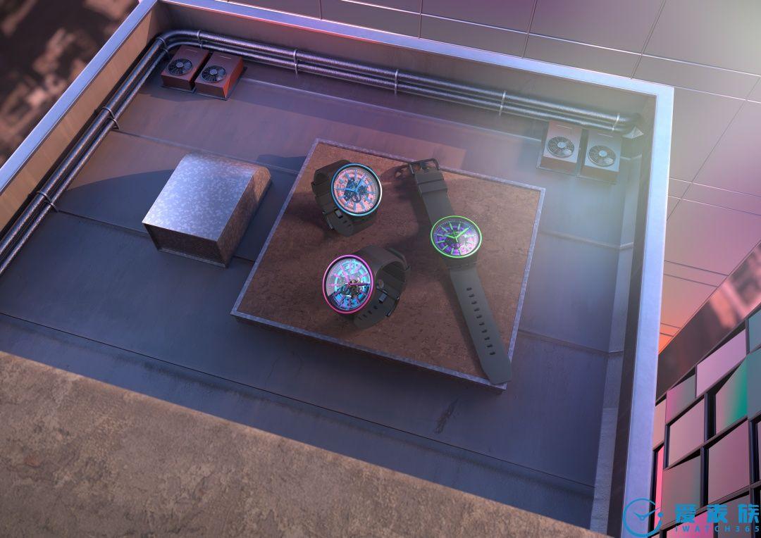 斯沃琪发布BIG BOLD SPECTRUM 腕表系列