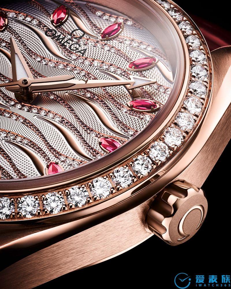 集海洋传奇与大地华彩欧米茄海马系列Aqua Terra珠宝腕表