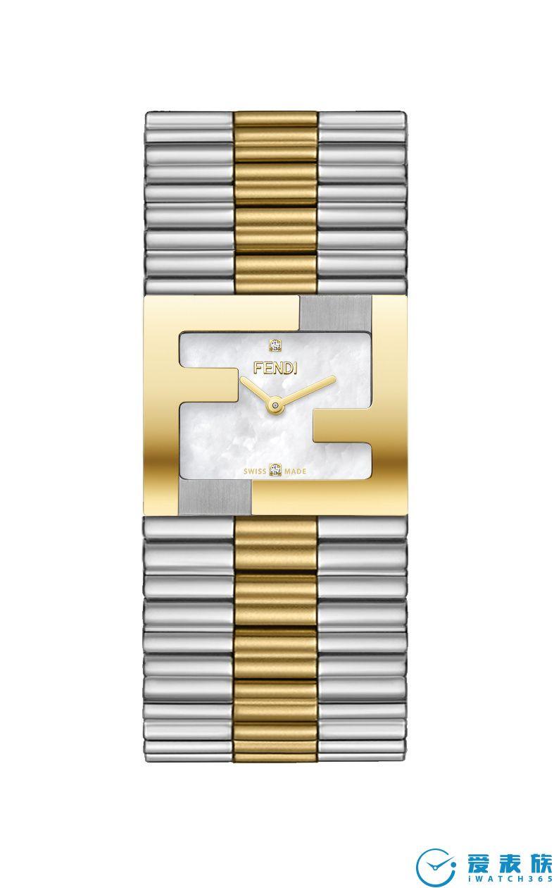 FENDI Timepieces 新推 Fendimania Bracelet 腕表