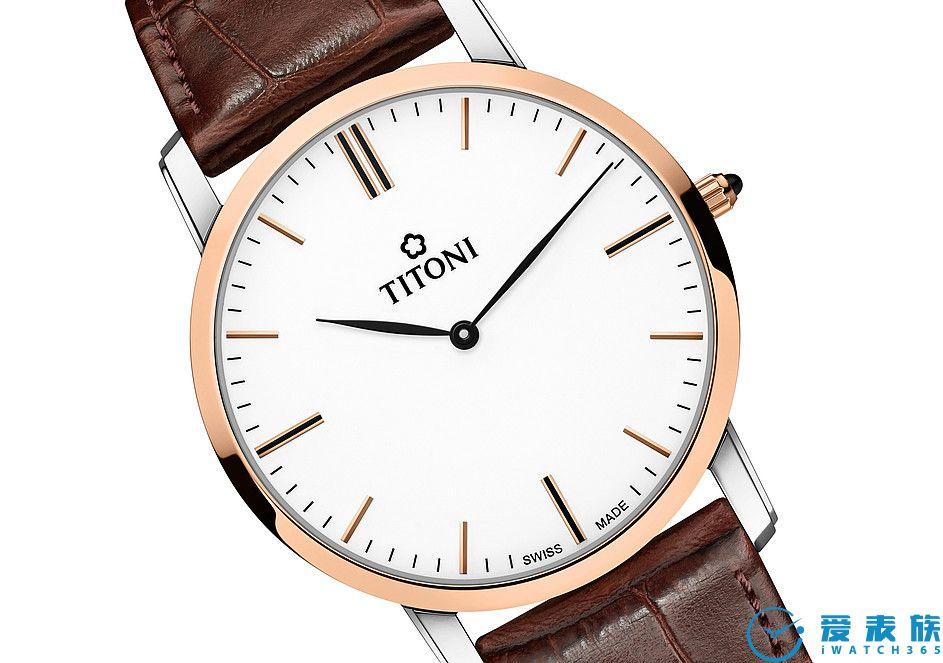 典雅的針葉形指針 帶有巧妙弧形的針葉形指針搭配細致的直線形時間刻度賦予這只腕表典雅的美,讓人百看不厭。獨特設計的超薄表殼賦予腕表一份優雅輕盈感。細微的分鐘刻度不僅讓時間讀取更為輕松,同時也確保設計上的簡約。