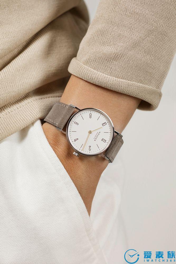 NOMOS Glashütte Tangente 33 duo腕表,简洁设计诠释女性之美