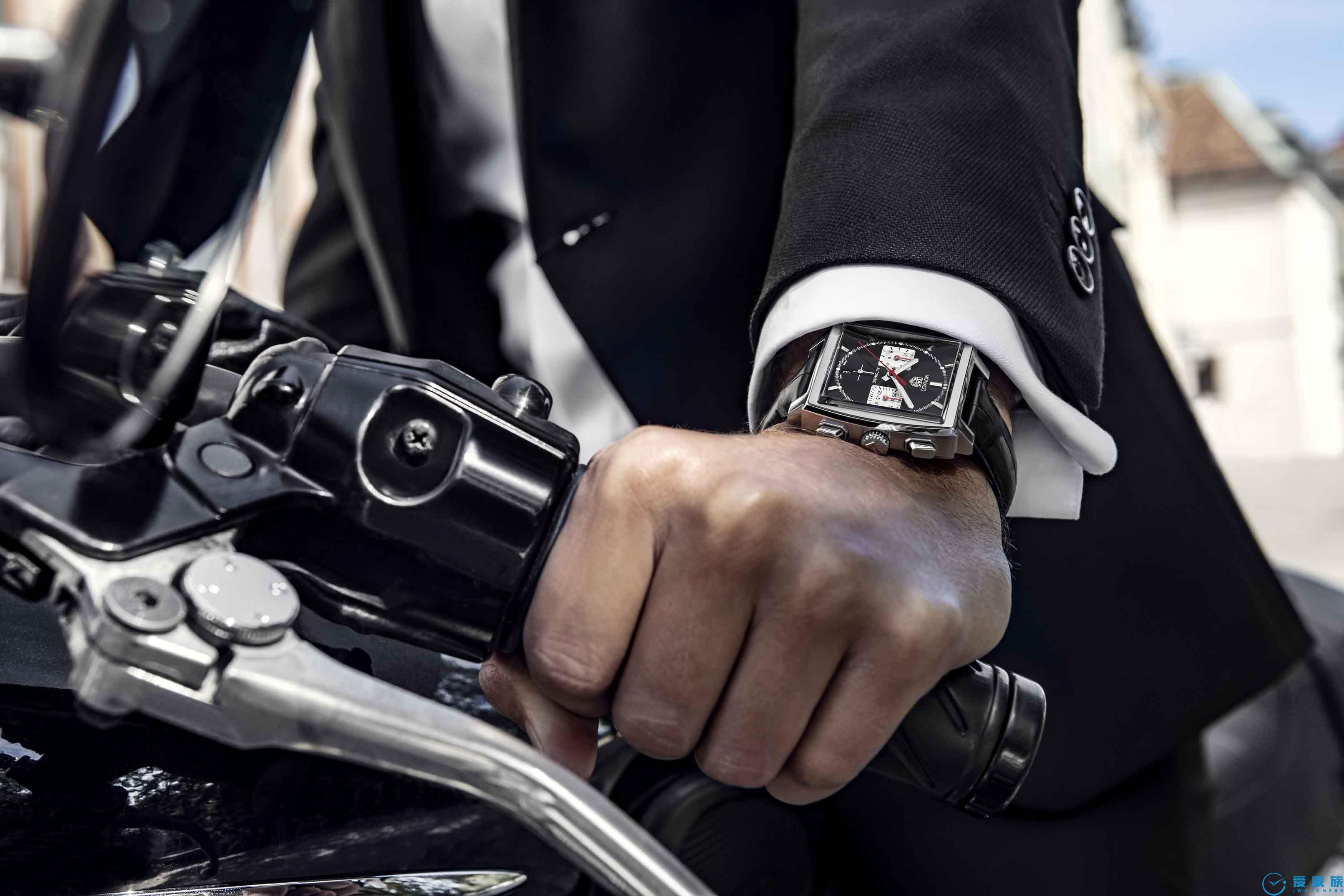 TAG Heuer泰格豪雅荣耀推出全新摩纳哥系列腕表 以品牌自制机芯搭配经