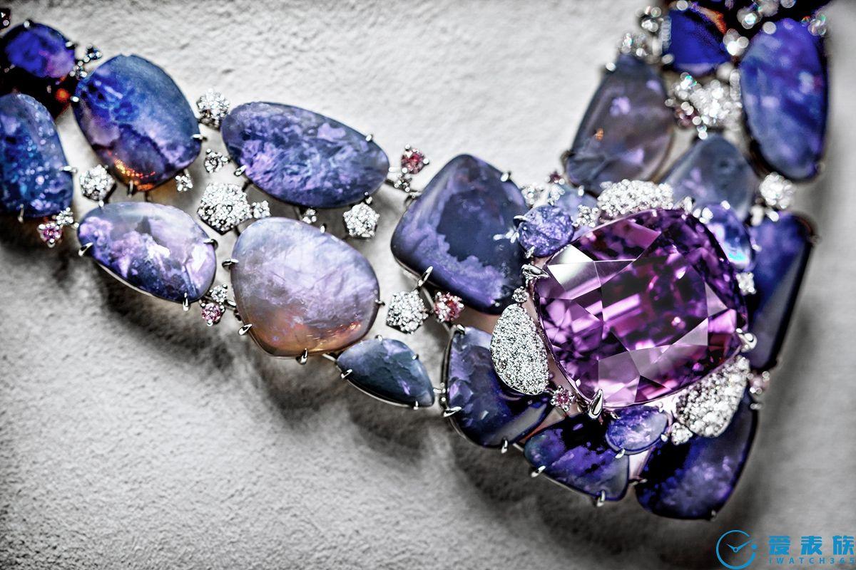 自然灵感 风格意象 卡地亚全新[SUR]NATUREL高级珠宝展