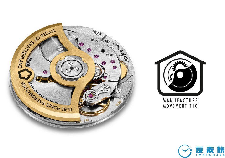梅花表原廠自創T10機芯 T10機芯是瑞士梅花表作為獨立家族企業為紀念品牌的不凡歷史而傾心打造,這是品牌首個自主開發和制造的機芯,結合原廠總部設計和制作團隊的獨創精神專注致力打造而成。T10機芯有68個小時的的動力儲備能量。