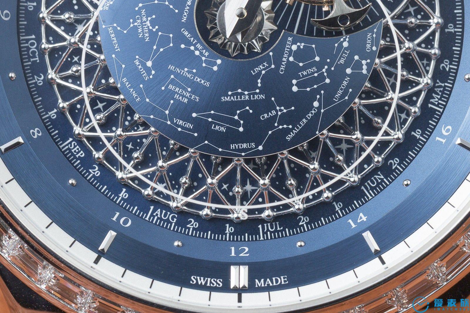 繁星与妙音的融合---积家超卓传统复杂功能大师系列腕表