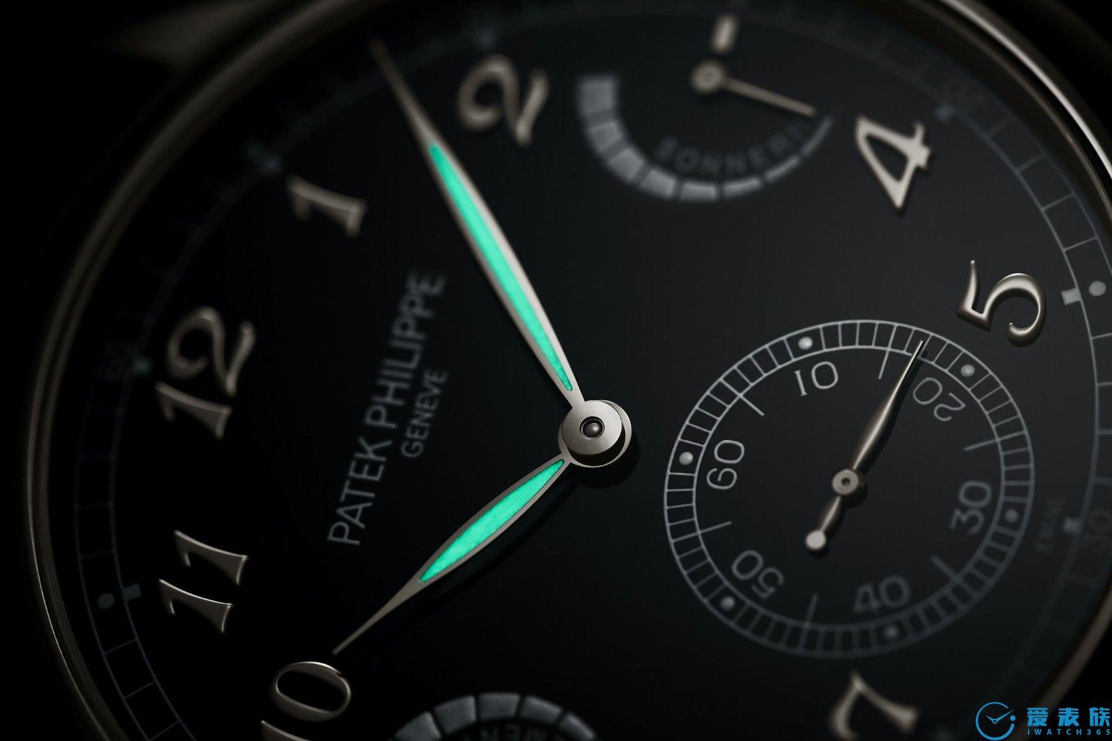 堅持古典路線---百達翡麗首枚大自鳴腕表6301P
