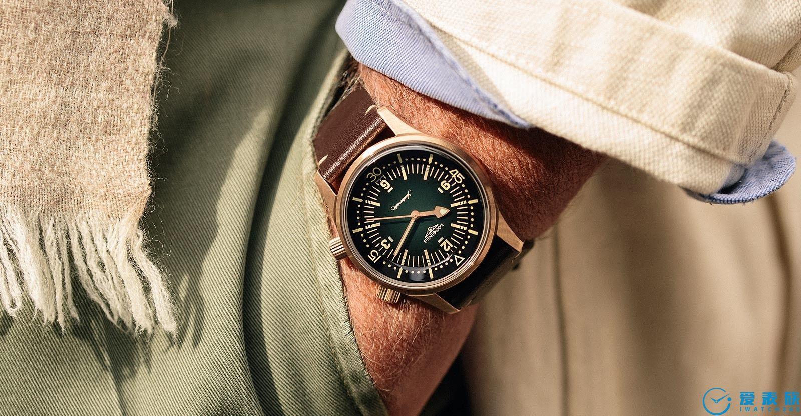浪琴總算趕上青銅浪潮---Legend Diver青銅手表