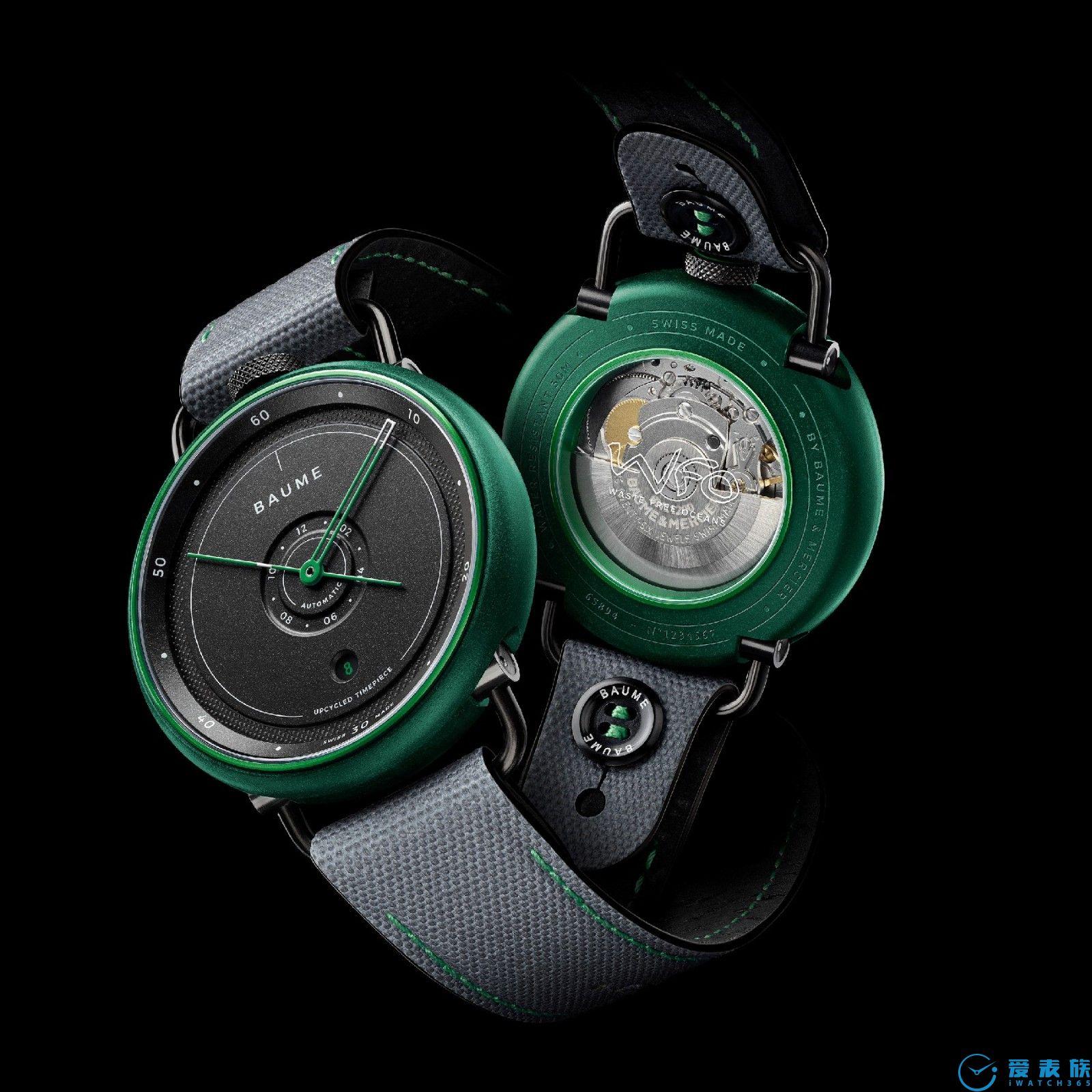 名士制表世家(BAUME & MERCIER)隆重发布BAUME奔系列腕表