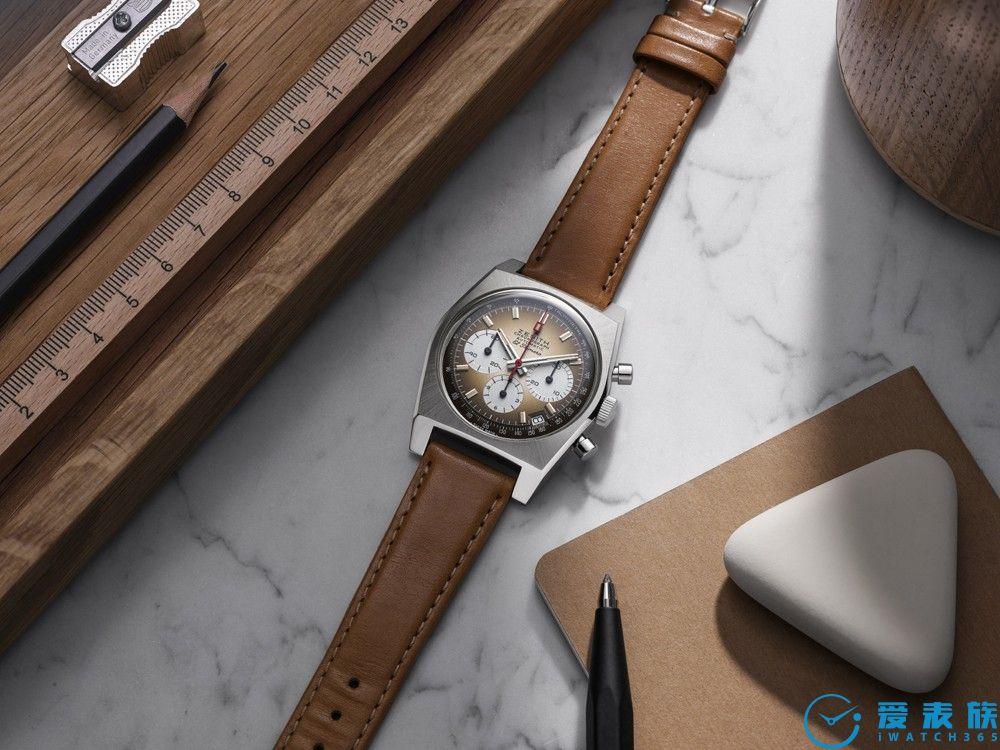 ZENITH真力时  再现1969年出品的第一款渐变表盘EL PRIMERO腕表  重磅推出