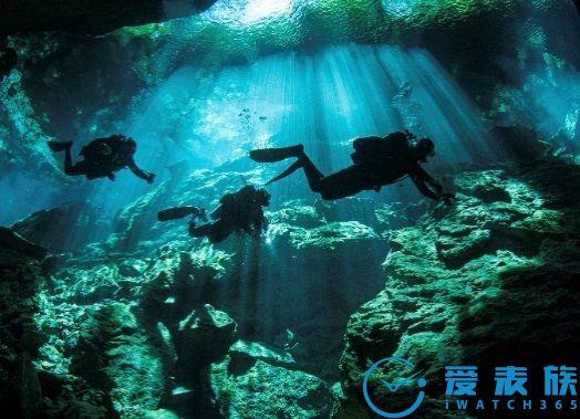 瑞士梅花表全新海洋探索系列600米潜水腕表