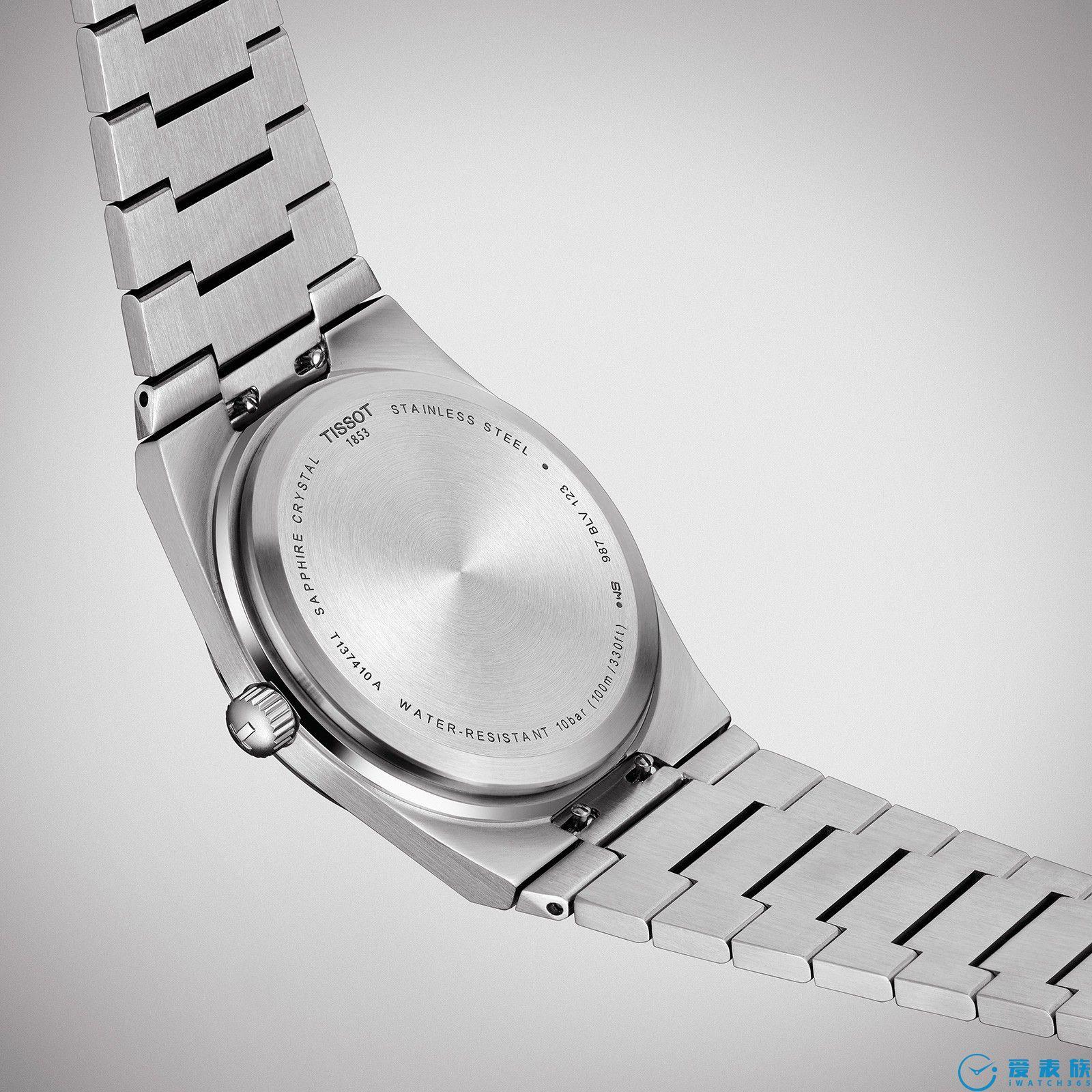 谁都买得起的集成表链运动手表---天梭PRX40 205