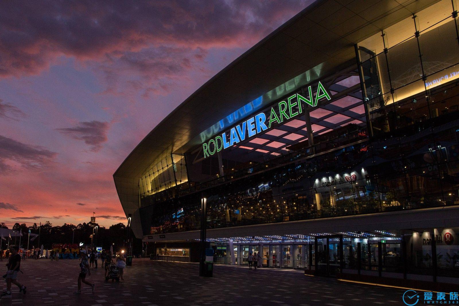 劳力士持续担任澳大利亚网球公开赛大会时计, 作为2021 年首个大满贯赛事