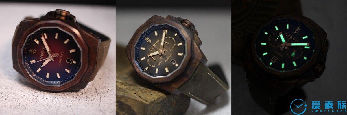 铜壳演绎海洋精神 CORUM昆仑表 全新海军上将Admiral 45青铜腕表