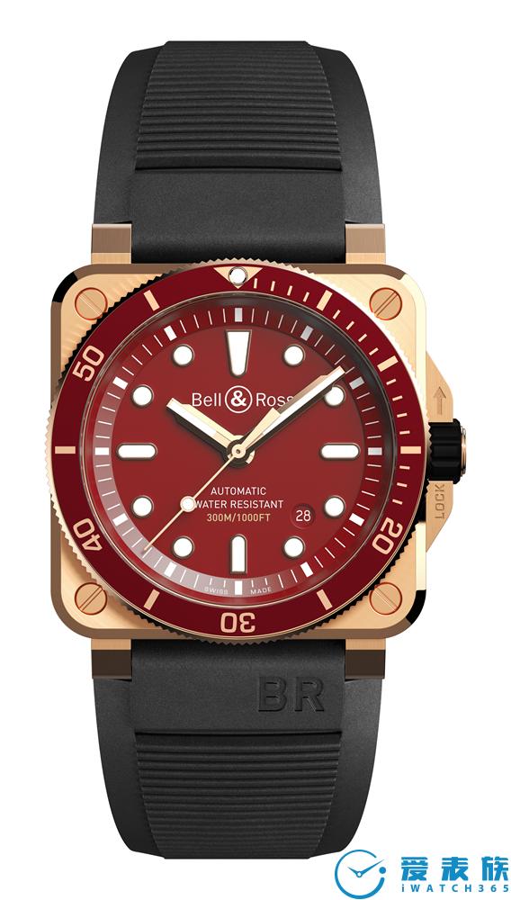 BR 03-92 DIVER RED BRONZE 限量潜水表