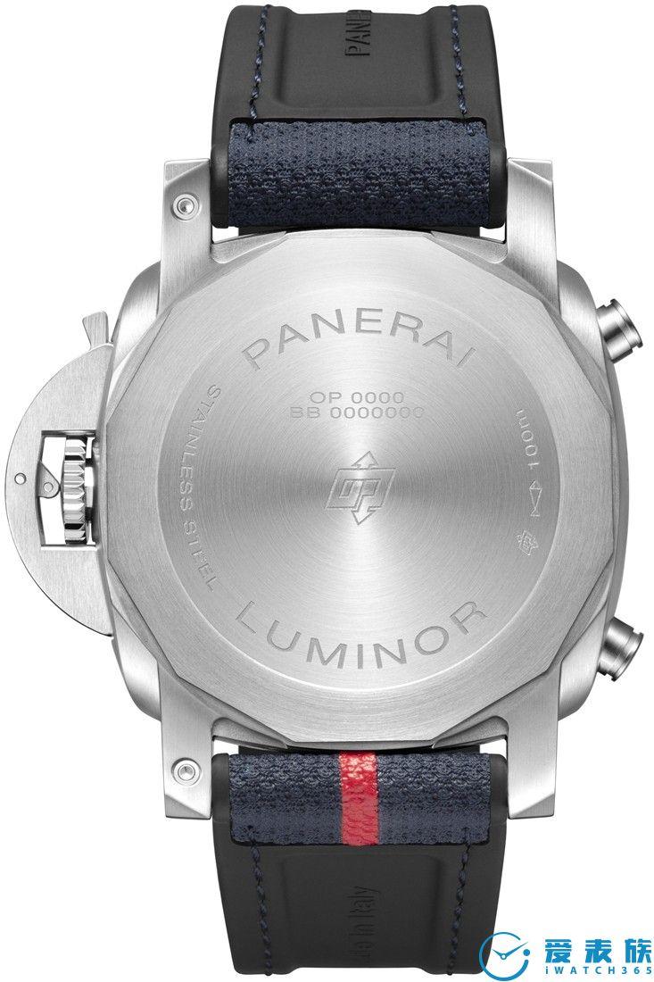 沛纳海Luminor Chrono Luna Rossa庐米诺系列计时腕表