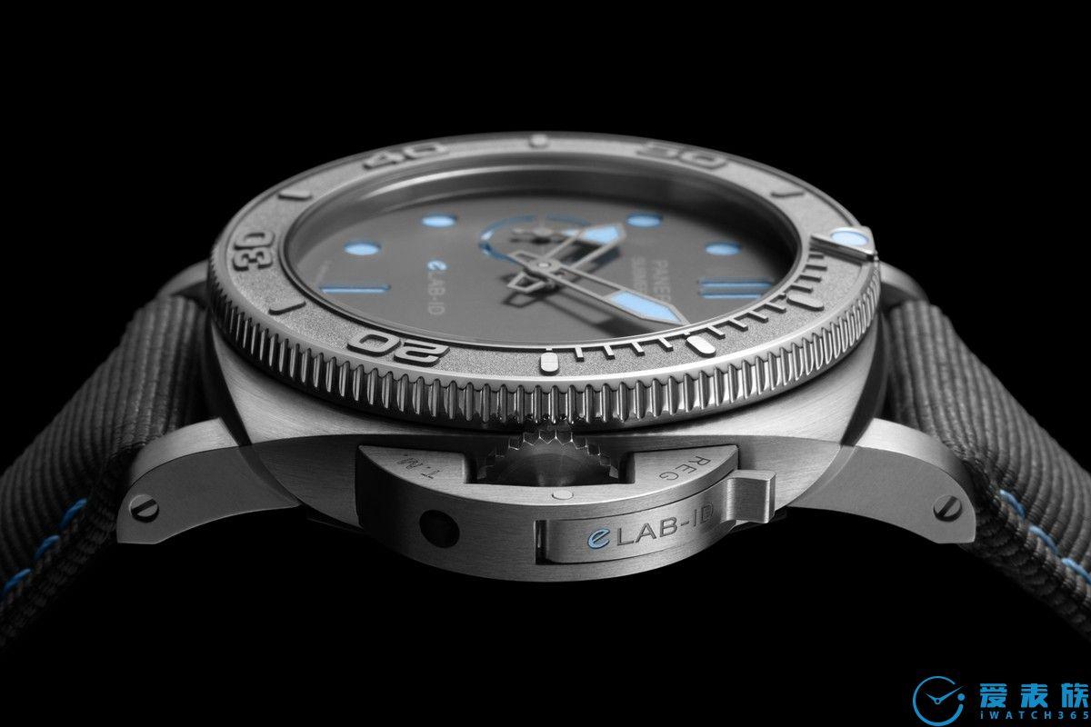 沛纳海推出SUBMERSIBLE潜行系列eLAB-IDTM概念腕表