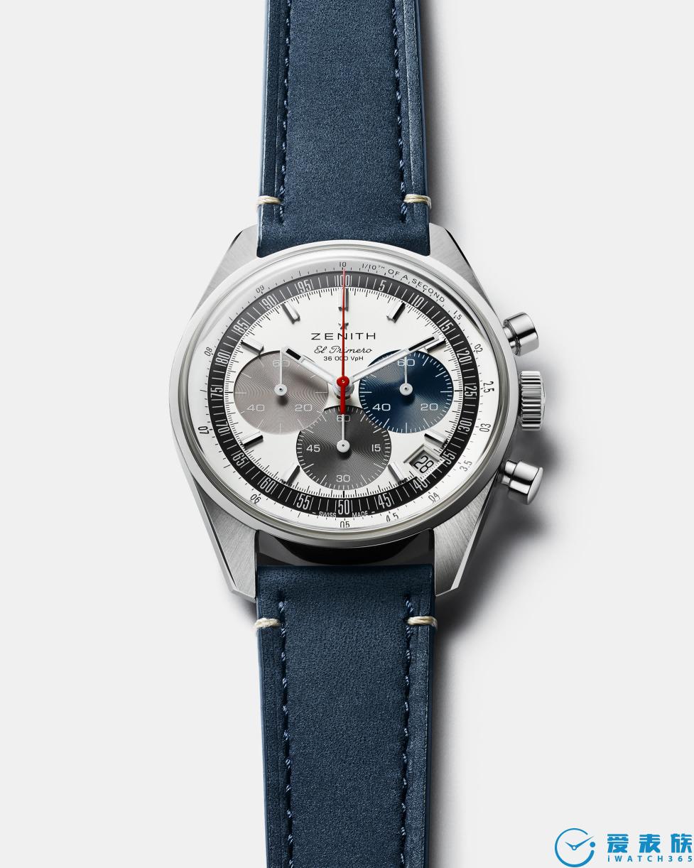 萬眾期待的A386腕表二代終于登場:  ZENITH真力時推出CHRONOMASTER ORIGINAL腕表