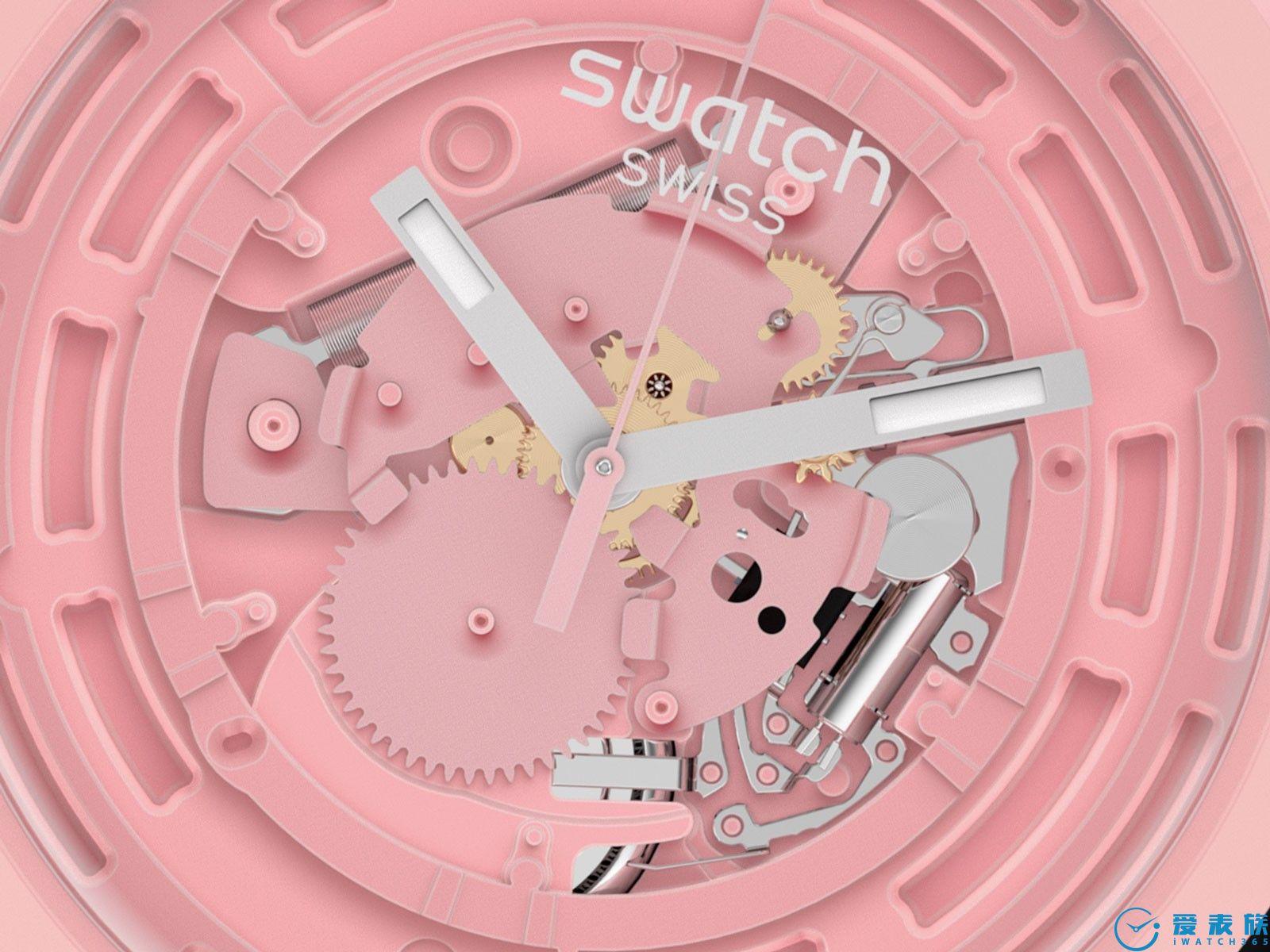 斯沃琪的高科技---生物陶瓷腕表