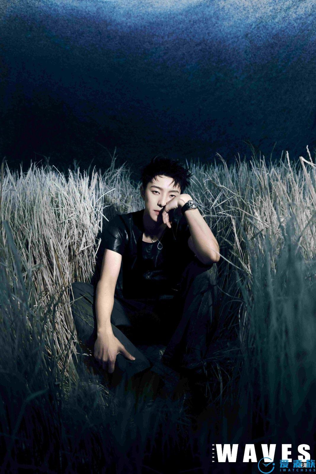 张欣尧佩戴宝齐莱腕表 展现阳光少年的帅气魅惑