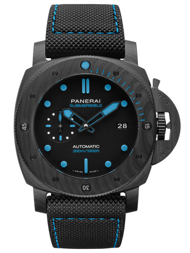 沛纳海Panerai潜行系列Submersible专业潜水Carbotech? 42mm腕表 PAM00960